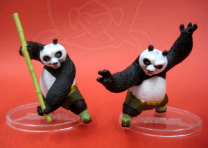 Kung Fu Panda Collectible Figure / Po / by Mattel