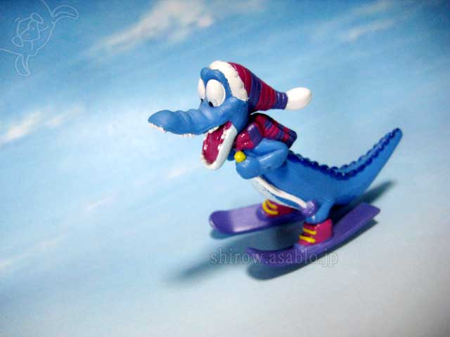 Collectible figurine / Ice Gator (Disney's Blizzard Beach, WDW)