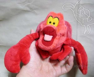 Stuffed Toy / SEBASTIAN from Little Mermaid /by Disney Store