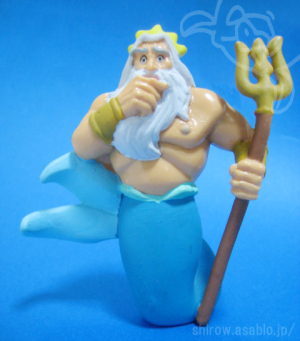 PVC Figurine/LITTLE MERMAID King Triton (1989)by apllause