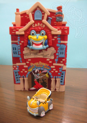TDL/ TOON TOWN /Roger Rabbit's Cartoon Spin / dicast mini car TOMICA and Tin-BOX
