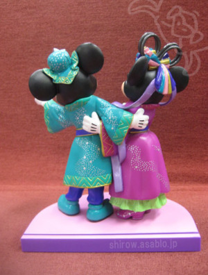 TDL/Disney's STAR FESTIVAL 2011/  Mickey & Minnie /Back Side