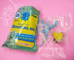 モンスターズ・インク ちいサイズコレクション(2001-2002)MIONSTERS' INC Mystery pack by Hasbro/TOMY