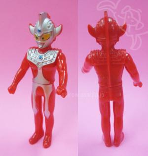 Mini Soft Vinyl Figurine / ULTRAMAN TARO (Young) / by BANDAI JAPAN (1988)
