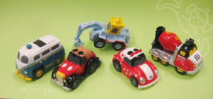Disney Motors Pullback Racers series 01 / by T-Arts