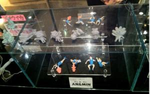 AN & MIN (アンとミン)サンプル/あいさつの魔法(ぽぽぽぽーん)ペンディング商品原型