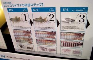 日本の清流/ニッコウイワナの承認ステップ
