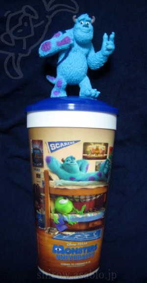 cup topper figurines/ Monsters University / Drink Cup