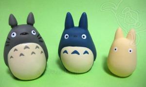 ジブリがいっぱい指人形/大トトロ、中トトロ、小トトロ