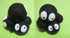 ジブリがいっぱい指人形/マックロクロスケ