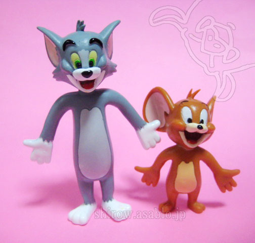 Bendable figurine / TOM and JERRY