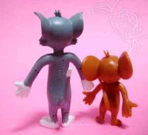 くねくね人形/トムとジェリー(背面)