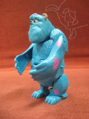 EGG STARS / SULLY (Monsters University ) by BANDAI (JAPAN)