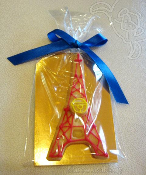 タワー型アイシングクッキー(ドラえもん鈴付きver.)