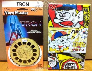 Viwew-Master Disney's TRON / 怪物くん手ぬぐい
