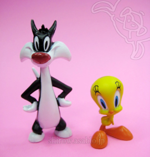Looney Tunes Figure 2-Pack /The Bridge Direct/ Tweety and Sylvester