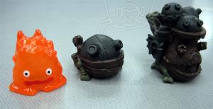 ジブリがいっぱい指人形/ハウルの動く城/カルシファー、ソフィーの城、ハウルの城