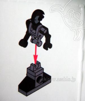 レゴのSWアドベントカレンダー(3)組立図