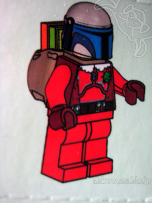 LEGO STAR WARS Advent calender 2013-day 24/Jango Fett (Santa Claus)