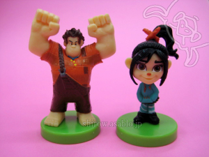 Wreck-it Ralph and Vanellope / Choco-Egg Disney 3 (Furuta /JAPAN)