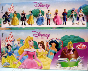 Zaini Chocolate Egg / Disney Princess (Package)