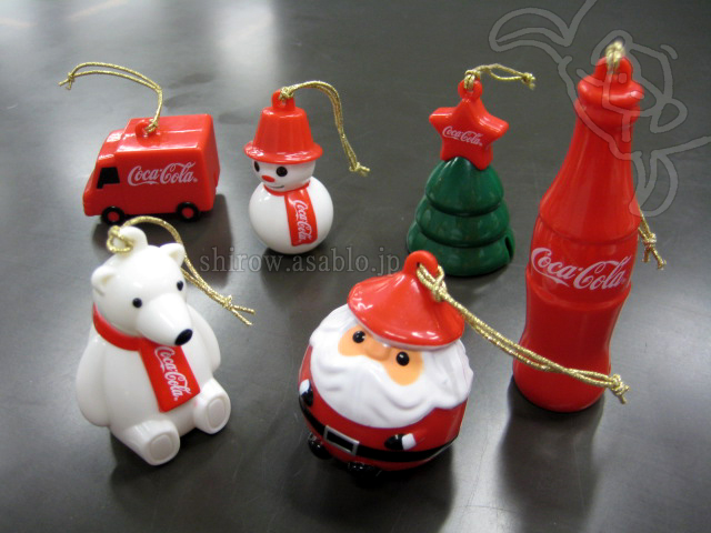 Coca-Cola Christmas Bell Ornament (2013/JAPAN)