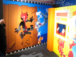 The World of TOM and JERRY (JAPAN)/Photo Location