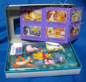 MOVIE FRIENDS / Winnie The Pooh / YUTAKA (1995) - BOX OPEN