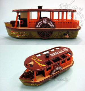 Tokyo DIsney Resort TOMICA/ DisneySea Transit Steamer Line (Indiana Jones Adventure)