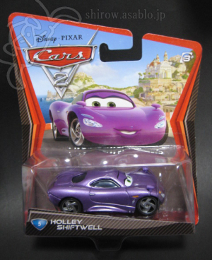 Disney Pixar Cars 2/#5 Holley Shiftwell (MATTEL)