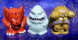 ゴモラ(3rdカラー:朱)、レッドキング(2ndカラー:ライトブルー)、キングジョー(2ndカラー:成形色金)