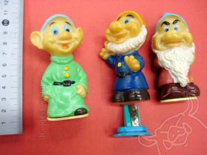 鉛筆削り人形/白雪姫/こびと-先生、苦虫、抜け作 /タケウチ製
