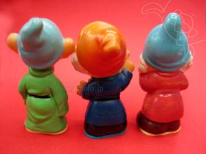 鉛筆削り人形/白雪姫/こびと - 先生、苦虫、抜け作 /タケウチ製