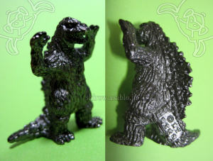 Mini Metal Figurine Godzilla Collection (by TAKARA JAPAN)/ GODZILA