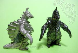 Mini Metal Figurine Godzilla Collection (by TAKARA JAPAN)/ GIGAN