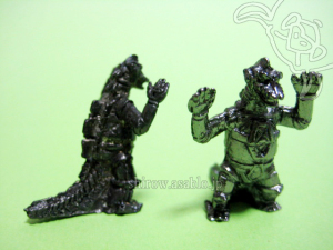 Mini Metal Figurine Godzilla Collection (by TAKARA JAPAN)/ MECHA- GODZILLA