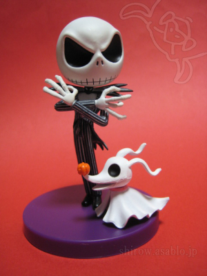 CHIBIKKO COLLECTION / The Nightmare Before Christmas / Jack and Zero (SEGA)