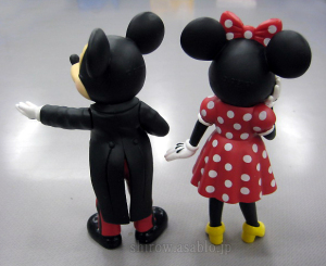 Mickey Mouse and Minnie Mouse / Disneyland Style Figure (ATA International Co.,Ltd)