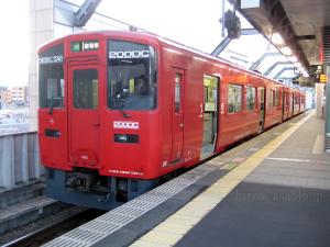 JR九州 (湯布院行) 200DC