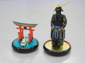2. 大鳥居 <広島・厳島神社> Grand Torii -Itsukushima Shrine, Hiroshima 3. 戦国武将 <伊達政宗の具足> Samurai General -Armor of Masamune Date-