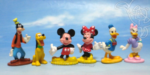 Disney Collector Packs series-1 / Mickey, Minnie, Goofy, Donald, Daisy, Pluto.