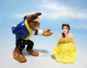 Disney Collector Packs series-1 / Beauty and the Beast (Bell, Beast)