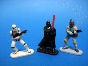 Disney Collector Packs series-4 /Stormtrooper, Darth Vader, Boba Fett