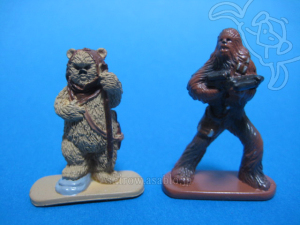 Disney Collector Packs series-4 /Ewok, Chewbacca