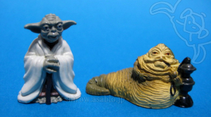 Disney Collector Packs series-4 / Yoda, Jabba the Hutt