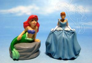 Disneyland WDW Collector Packs Series-2 /Ariel, Cinderella