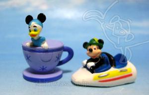Disneyland WDW Collector Packs Series-2 /Teacup, Matterhorn Bobsled