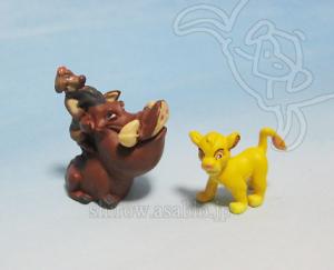 Disneyland WDW Collector Packs Series-2 /Pumbaa & Timon, Simba