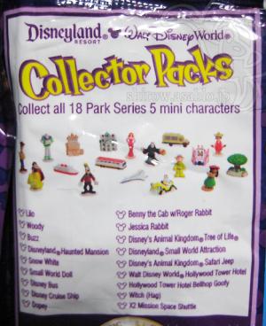 Disneyland resort - Walt Disney World Collector Packs Series-5 / Line-Up