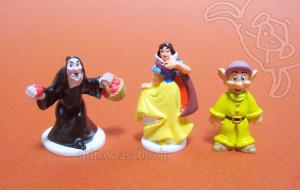 Disneyland resort - Walt Disney World Collector Packs Series-5/Snow White Witch (Hag) , Snow White, Dopey